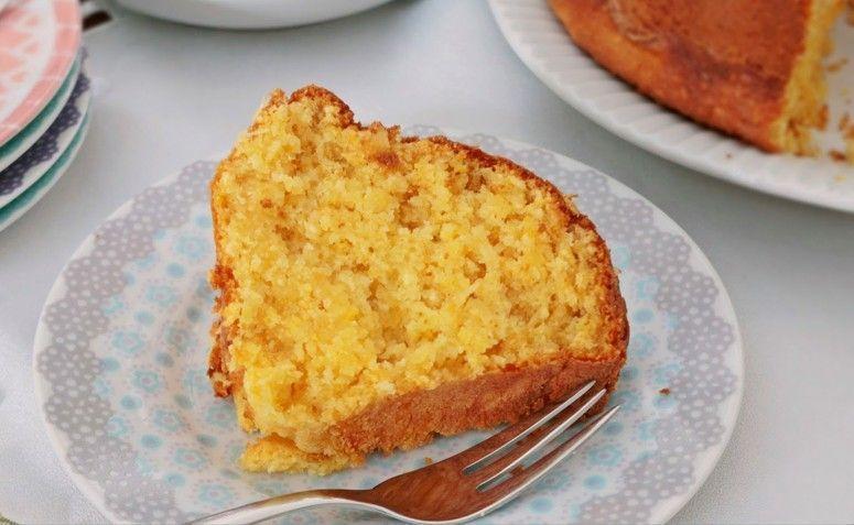 Pastel de harina de maíz con maíz. Foto: Reproducción / El mejor restaurante del mundo.