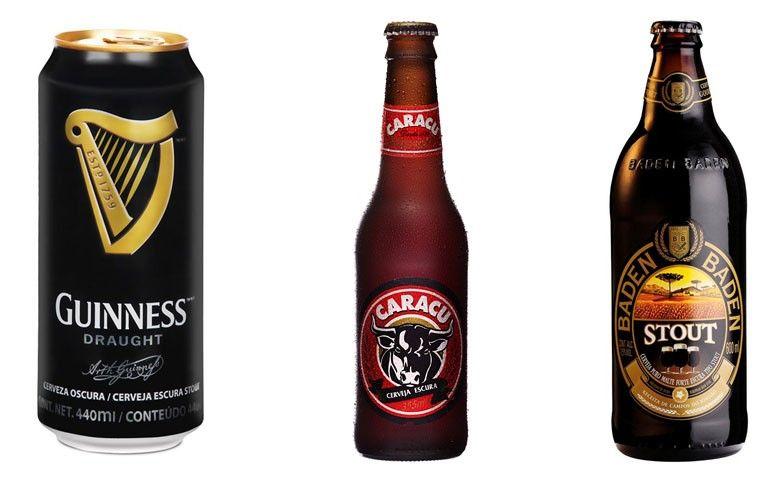 Sugerencias: Guinness, Caracu y Baden Baden Stout