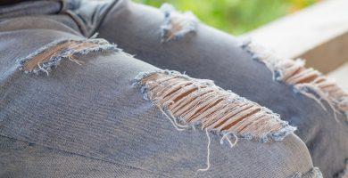 Cómo triturar jeans: 10 tutoriales para copiar en casa