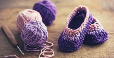 Zapatos de crochet: para calentar pies y corazones