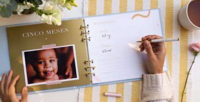 Baby book: tutoriales y 25 plantillas para hacer que cada momento sea eterno