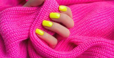 Esmalte de uñas de neón: 30 ideas sensacionales para resaltar tus uñas