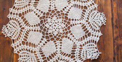 Las alfombras de ganchillo llevan la belleza de la decoración artesanal a cualquier entorno.