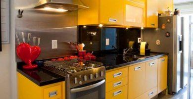 Cocinas coloridas: 85 fotos de cocinas alegres y hermosas
