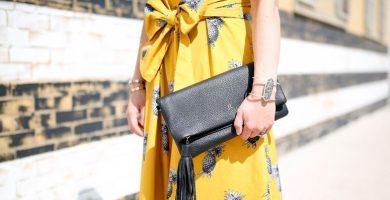 Vestido amarillo: cómo crear looks discretos con este color cálido