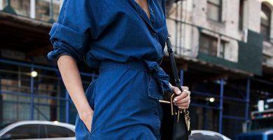 Vestido de mezclilla: el comodín para looks cómodos y elegantes