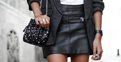 Falda negra: una pieza salvaje capaz de componer looks para todas las ocasiones