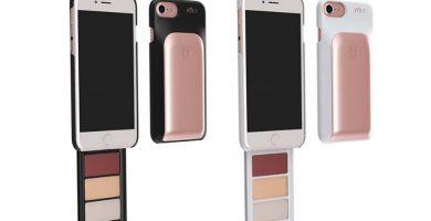 La marca lanza una funda para teléfono celular con paleta base y lápices labiales.  ¡Queremos!