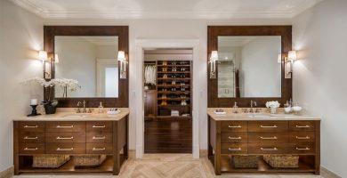 Armario con baño: refinamiento y practicidad para tu hogar