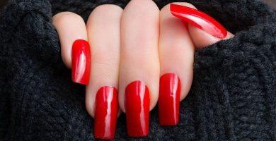 Uñas rojas: arte de uñas inspirador en este color que nunca pasa de moda
