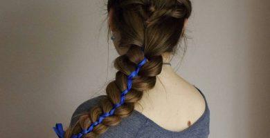 Ribbon Braid: 30 inspiraciones y tutoriales para que innoves en tu look