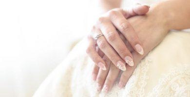 20 increíbles uñas de novia delicadas para que te inspires