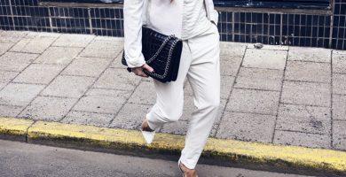 Look blanco: apuesta por la elegancia del total white