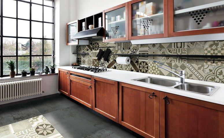 Azulejo hidráulico: aportando personalidad a la decoración de la cocina