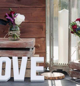 Letras decorativas: más personalidad y encanto para tu hogar