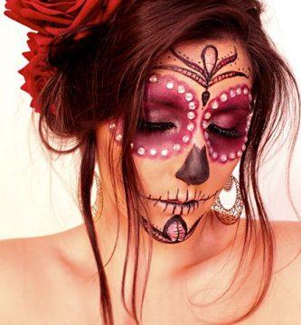 Maquillaje de calavera mexicana: 32 inspiraciones y tutoriales increíbles