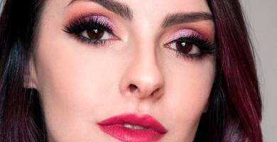 Maquillaje rosa: inspiraciones y tutoriales para jugar en color